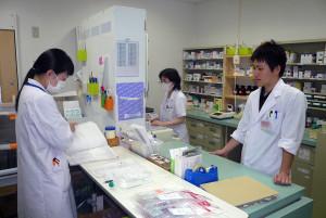 医療法人希望会・希望ヶ丘病院(岩手・陸前高田市)職員の作業風景